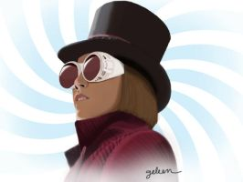 Willy Wonka by wickedjelly