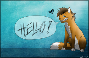 Hello :D by Rookie77