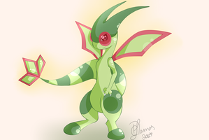 {FIRST ATTEMPT} Flygon by LlamasWithKatanas