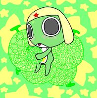 Chibi Keroro and melon's Color by SalemTheCat23