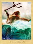 POSEIDON - GREEK GODS PROJECT by isikol