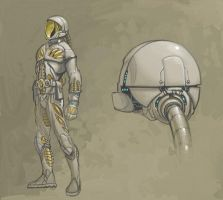 Space Suit by Rusty001