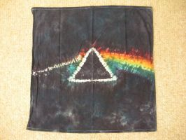 Dark Side of the Moon Tie Dye by Spudnuts