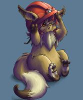 MY HAT IS TOO BIG by Silverbirch