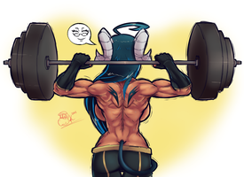 Time to get Swole by MadKoopas