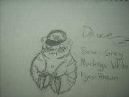 HAMSTER NAMED DEUCE by Ninji99