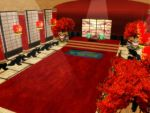MMD Emperor Throne Room Stage DL by SachiShirakawa