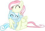 Snowdrop and her Mother by Luuandherdraws