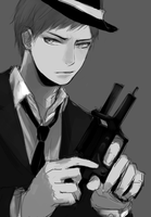 aomine by hyooon