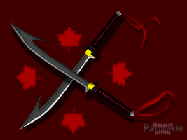 twin blades by parnmkie