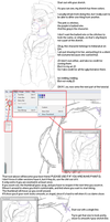 MS Paint Line Art Tutorial by Mutationification