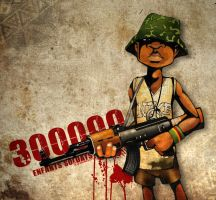 Enfant soldat by Raphooo2014
