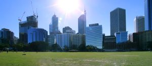 Perth City Skyline by Labrug
