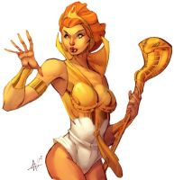 Teela Coloured by kuewa by TheAmbushBug
