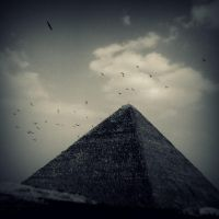 Great Pyramid of Giza II by lostknightkg