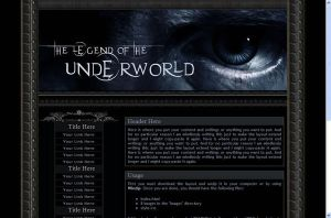 The Legend of the Underworld by Norven