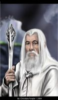 Gandalf the White by chrissi-dinos
