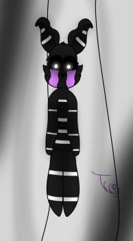 {Shipchild} Marionette And ShadowBonnie Child by TwiglessKarma