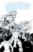 Wolfman 25 Cover by Forty-Nine