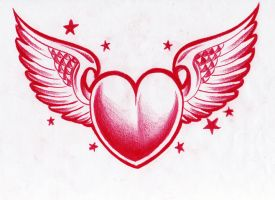 heart n winsg by WillemXSM
