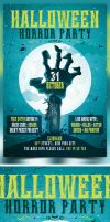Halloween Party PSD Template by bouzix