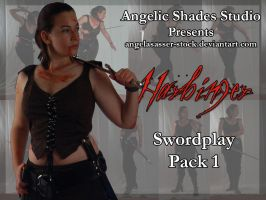 Harbinger Swordplay Pack 1 by AngelaSasser-stock