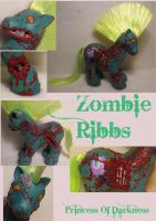 Zombie Ribbs by DeepDarkCreations