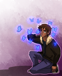 The Boy with the Butterflies by CHAOTIKproductions