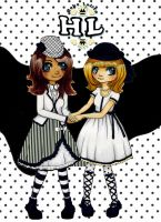 HL Black and White by HoboLolita