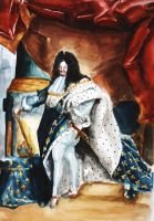 Louis XIV of France by TEAofeyes