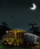 catbus accident by Opaca