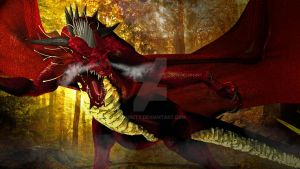 Red Dragon by adorety