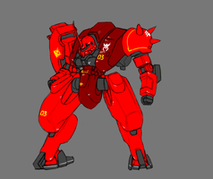MS-06S Char's Custom by Norsehound