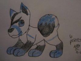 Adoptable Spitz-6 Points- OPEN by Wolfies--Adopts
