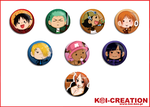 :KOI: One Piece Chibi by DixFirebone