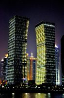 Shanghai by night by YannosGATO