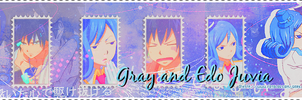 Gray x Edo Juvia Banner by MissxAllSunday