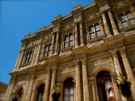 Awe inspiring Dolmabahce Palace by jacobjellyroll