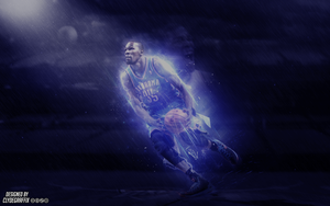 Kevin Durant | Wallpaper by ClydeGraffix