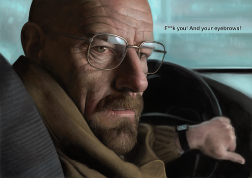 Heisenberg by adam-brown