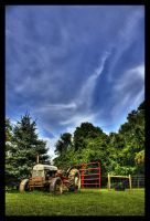 Farming the Sky - HDR by Stars-Life-Eternity