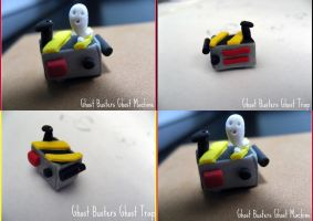 Ghost Busters Ghost Trap by cupcakecutiefriends