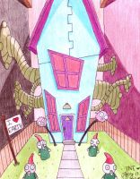 Zim's House by InkMunkY
