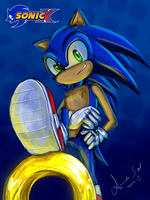 .:Sonic:. by Amand4
