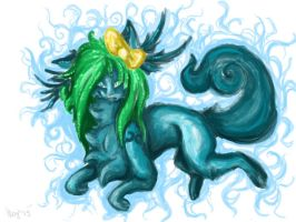Water Elemental by NightyLightness