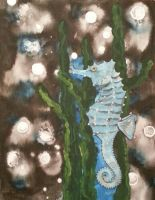 Seahorse for Sara by KathrynPinkham