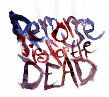Remorse is for the dead LOGO by GLoeNn