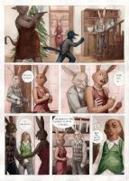 Rabbits - page 1 by Yoenai