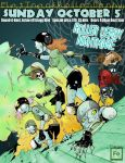 Roller Derby Nightmare by TheIronClown