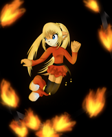 .: Trap of the fire by KrisiChiki